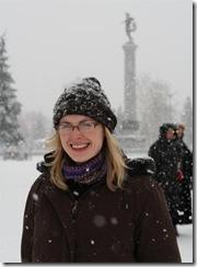 Heather in Snow